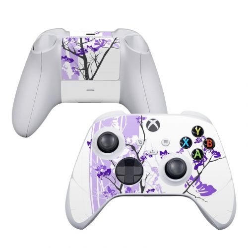 Violet Tranquility Xbox Series S Controller Skin
