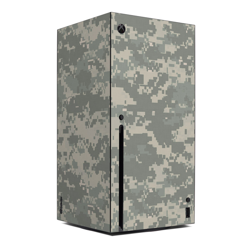 Xbox Series X Skin design of Military camouflage, Green, Pattern, Uniform, Camouflage, Design, Wallpaper with gray, green colors