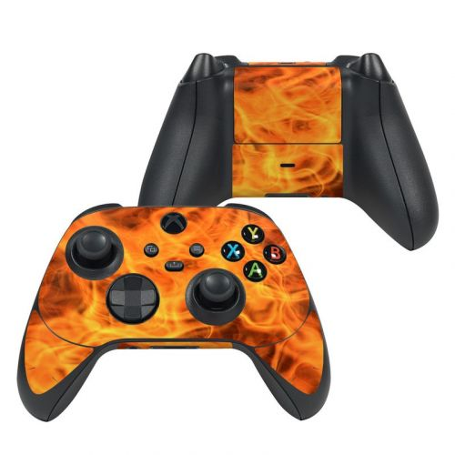 Combustion Xbox Series X Controller Skin