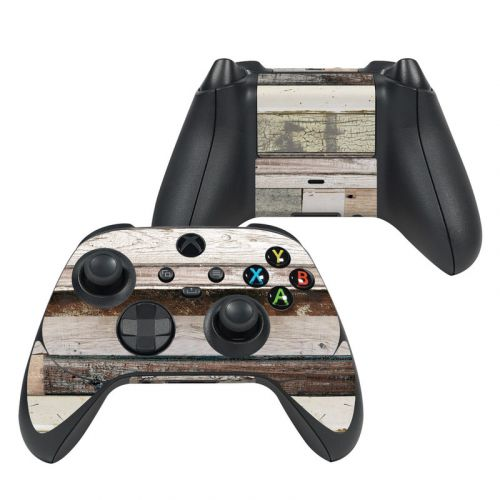 Eclectic Wood Xbox Series X Controller Skin