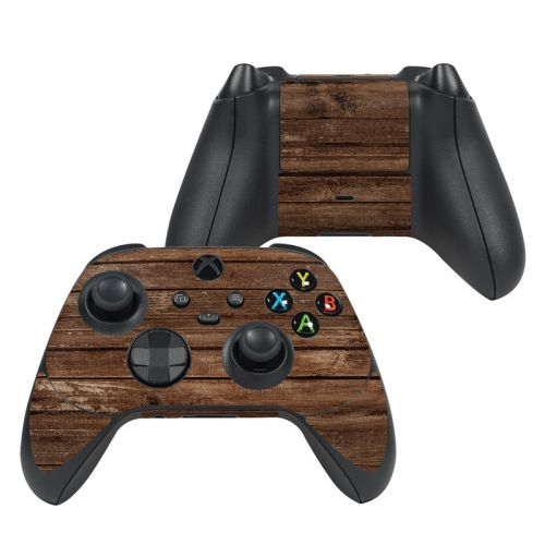 Stripped Wood Xbox Series X Controller Skin