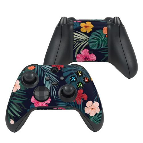 Tropical Hibiscus Xbox Series X Controller Skin