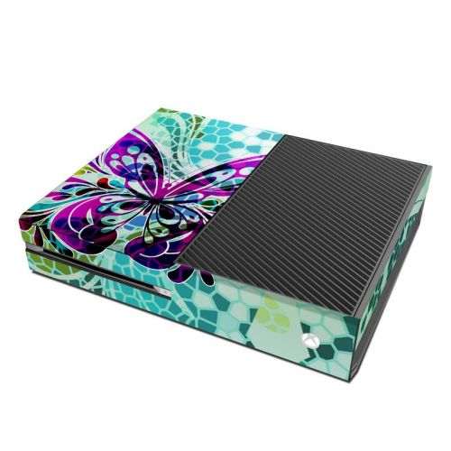 Butterfly Glass Xbox One Skin