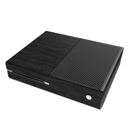 Black Woodgrain Xbox One Skin
