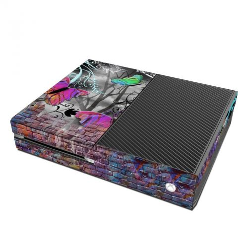 Butterfly Wall Xbox One Skin