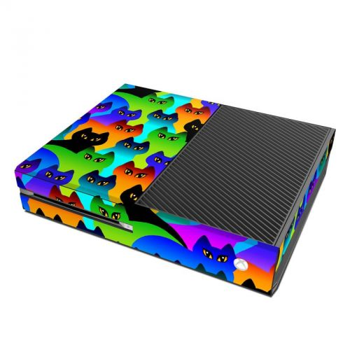 Rainbow Cats Microsoft Xbox One Skin