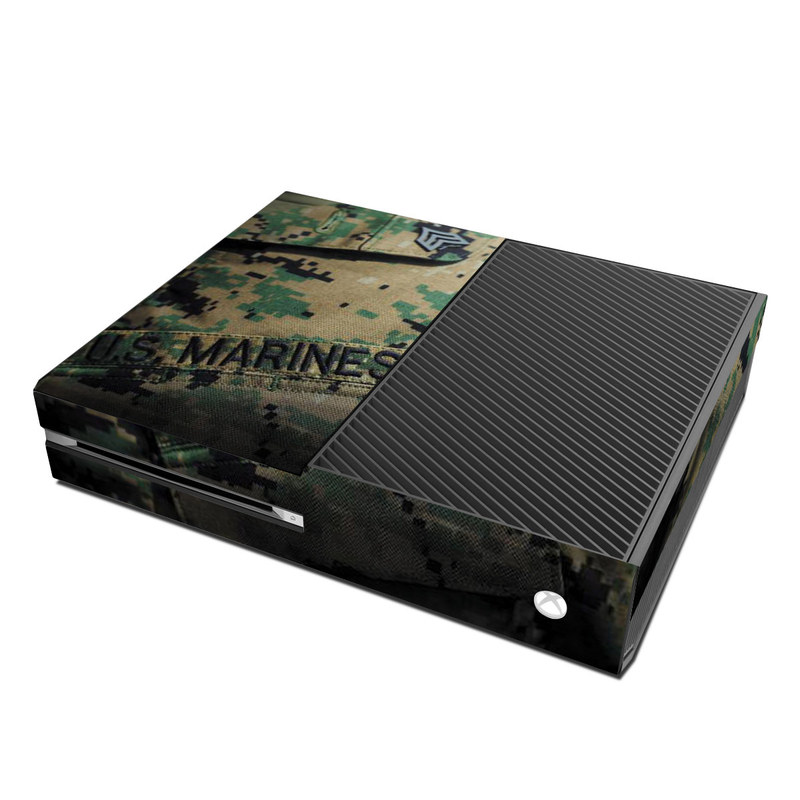 Xbox One Skin design of Military camouflage, Military uniform, Camouflage, Pattern, Uniform, Green, Design, Military, Army, Airsoft with black, green, gray, red colors