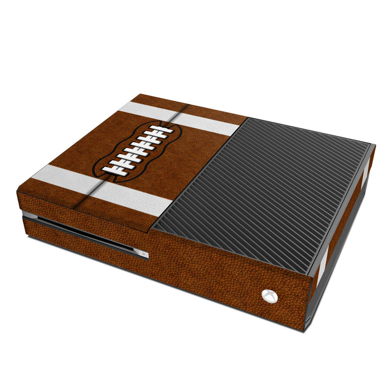 Xbox One Skin design of Brown, Beige, Pattern with black, gray, red, white colors