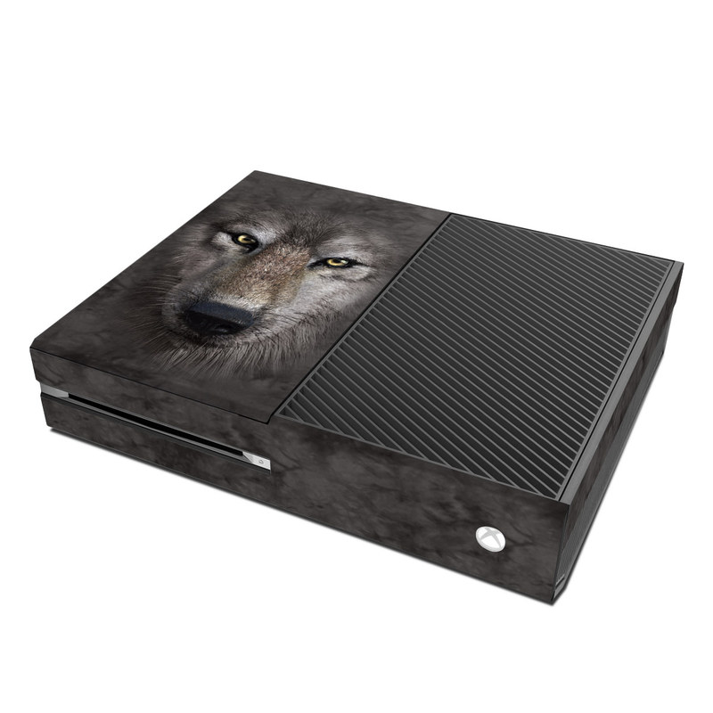 Xbox One Skin design of Vertebrate, Mammal, Wolf, Canidae, Wildlife, Snout, Czechoslovakian wolfdog, Eye, Wolfdog, Canis with black, gray, red, green colors