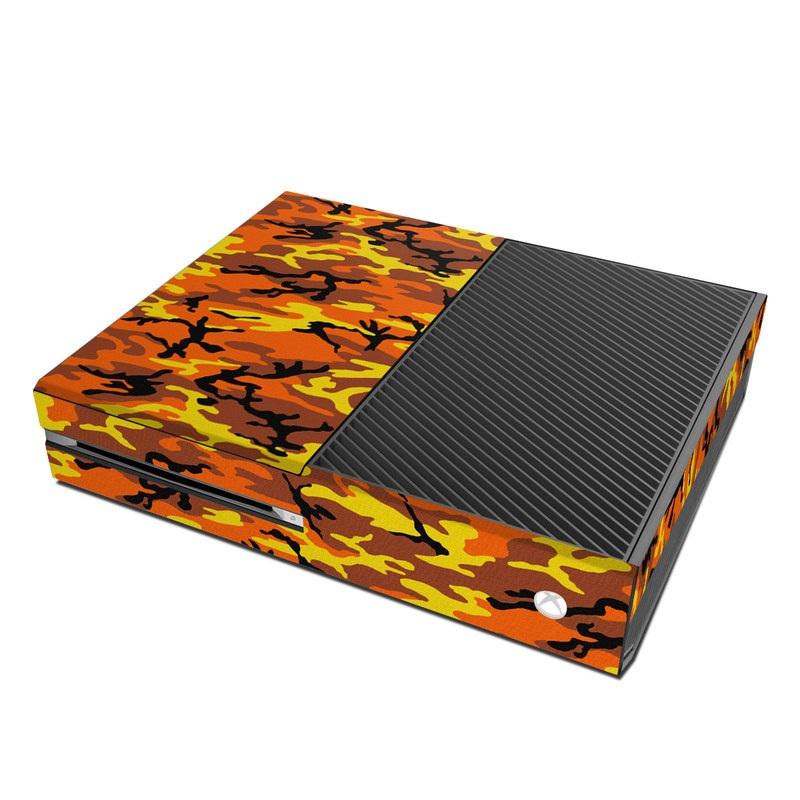 Orange Camo Xbox One Skin
