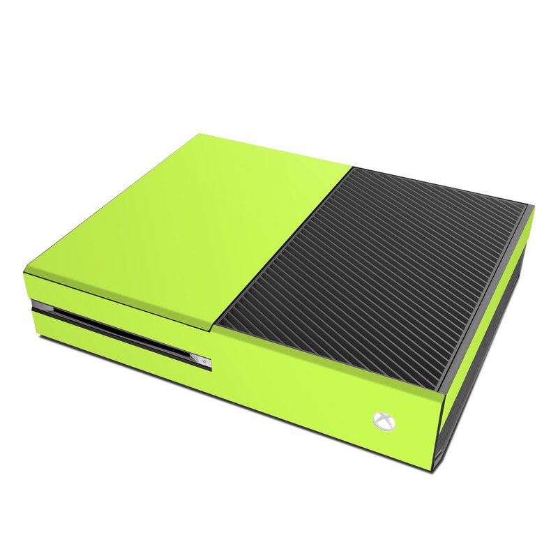 Solid State Lime Xbox One Skin