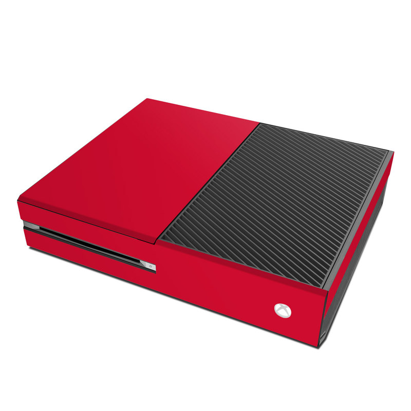 Solid State Red Xbox One Skin
