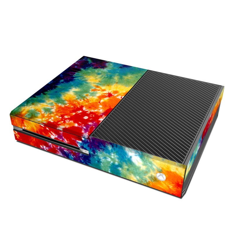 Book Cover Handmade Xbox One : Tie dyed microsoft xbox one skin covers