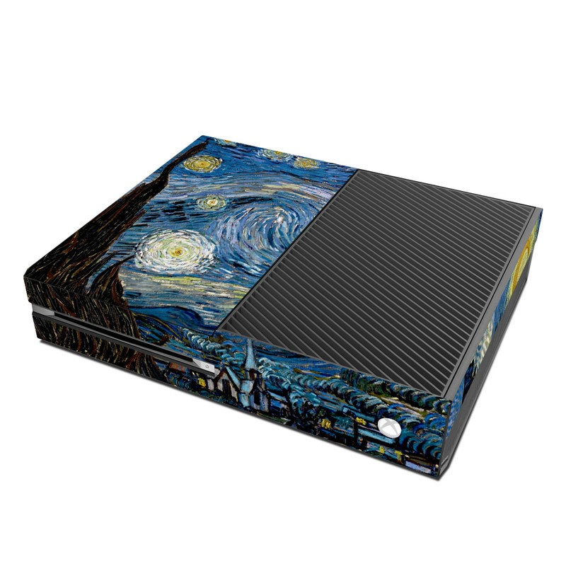 Book Cover Handmade Xbox One : Starry night microsoft xbox one skin covers