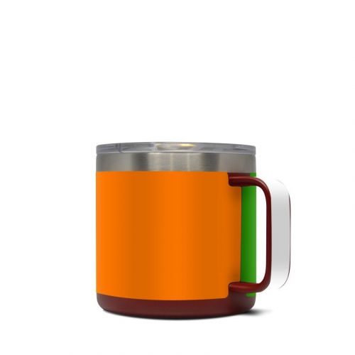 Irish Flag Yeti Rambler Mug 14oz Skin