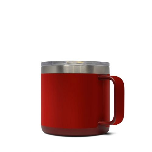 Red Burst Yeti Rambler Mug 14oz Skin