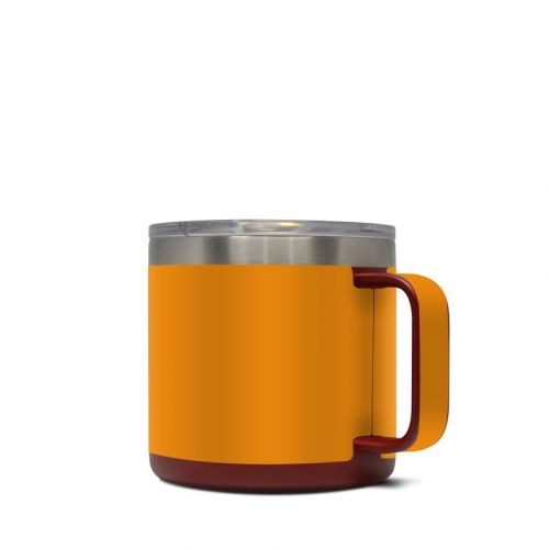 Solid State Orange Yeti Rambler Mug 14oz Skin