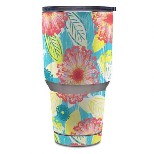 Tickled Peach Yeti Rambler Tumbler 30oz Skin
