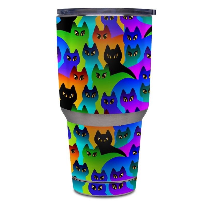 Rainbow Cats Yeti Rambler Tumbler 30oz Skin