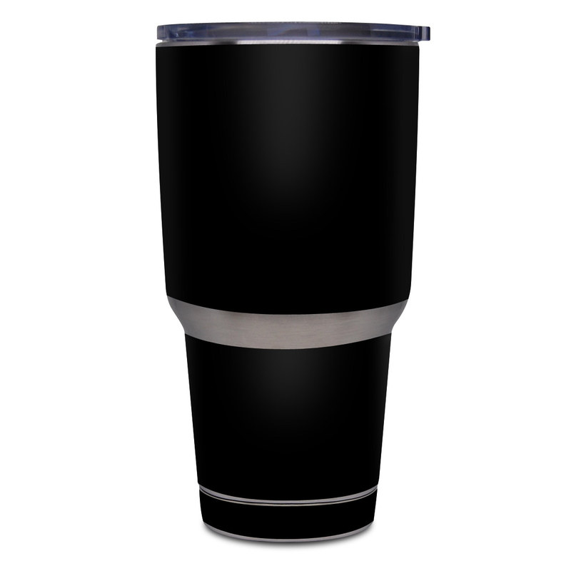 Yeti Rambler Tumbler 30oz Skin design of Black, Darkness, White, Sky, Light, Red, Text, Brown, Font, Atmosphere with black colors
