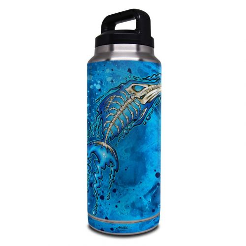 Barracuda Bones Yeti Rambler Bottle 36oz Skin