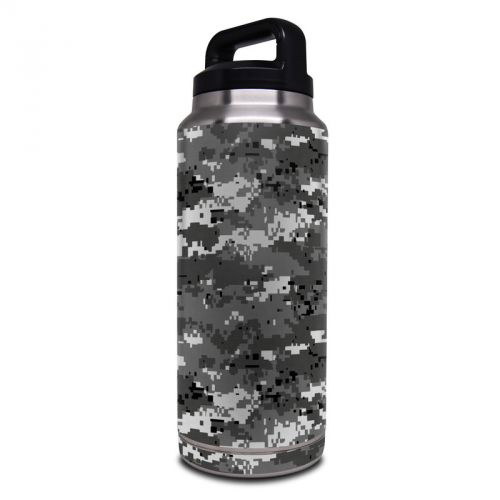 Digital Urban Camo Yeti Rambler Bottle 36oz Skin