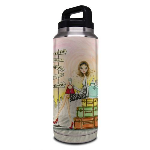 The Jet Setter Yeti Rambler Bottle 36oz Skin