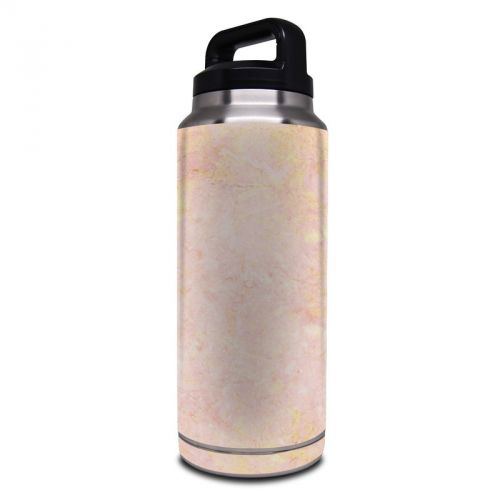 Rose Gold Marble Yeti Rambler Bottle 36oz Skin