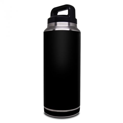 Solid State Black Yeti Rambler Bottle 36oz Skin