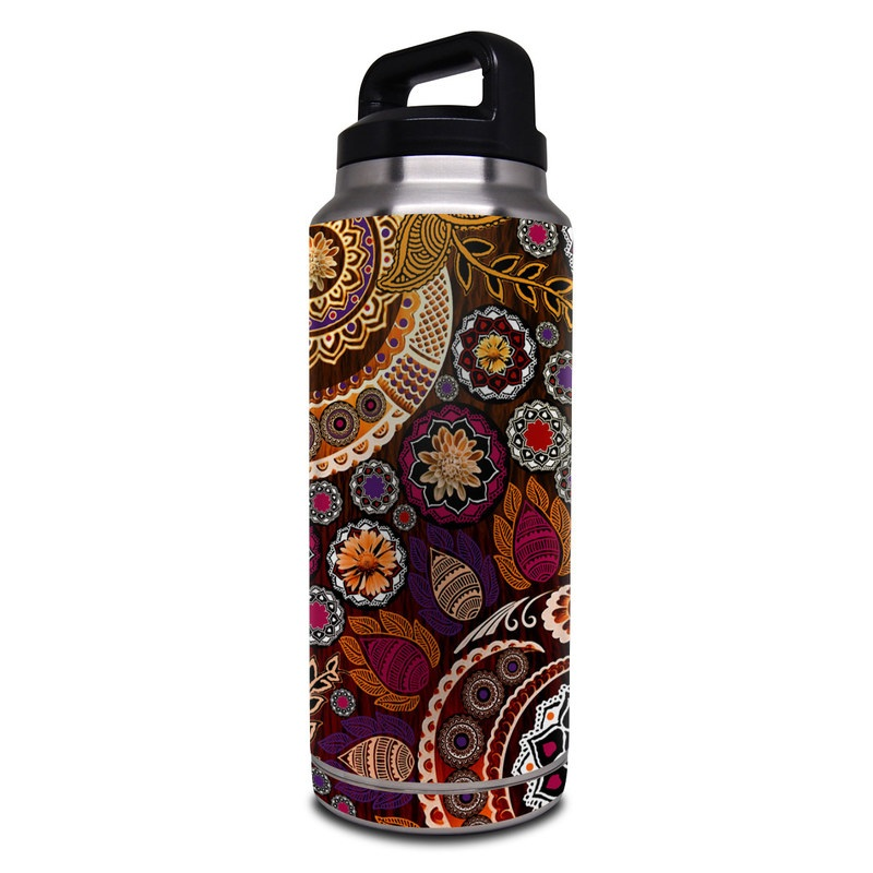 Autumn Mehndi Yeti Rambler Bottle 36oz Skin