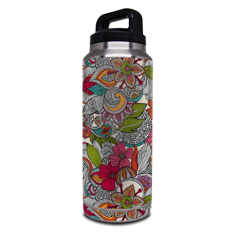 Doodles Color Yeti Rambler Bottle 36oz Skin