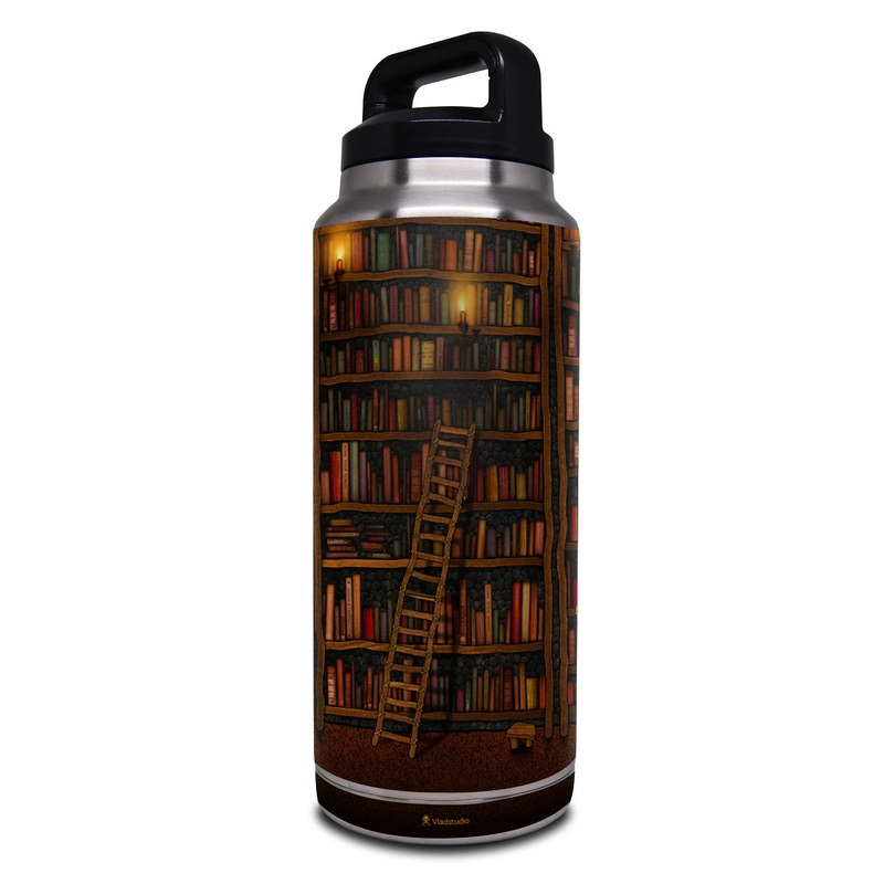 Library Yeti Rambler Bottle 36oz Skin