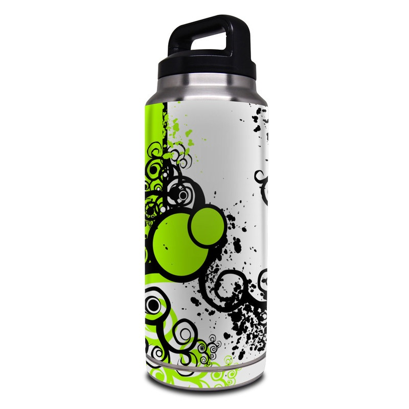 db90ebfd742 Simply Green Yeti Rambler Bottle 36oz Skin