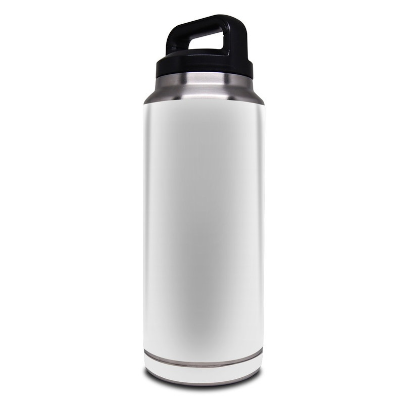 Solid State White Yeti Rambler Bottle 36oz Skin