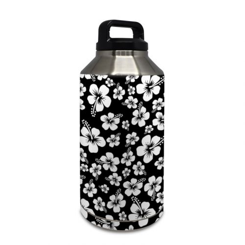 Aloha Black Yeti Rambler Bottle 64oz Skin