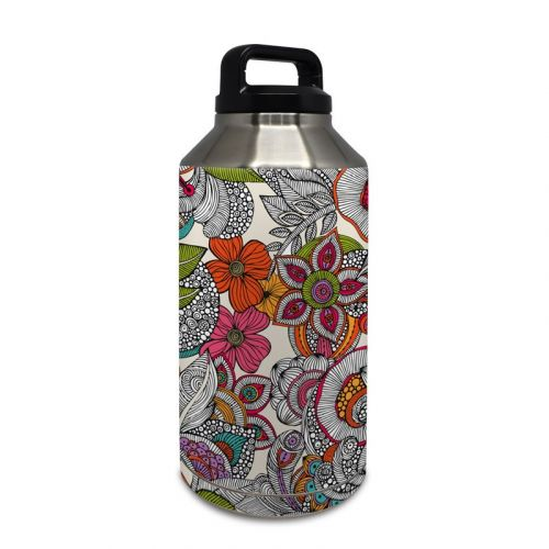 Doodles Color Yeti Rambler Bottle 64oz Skin