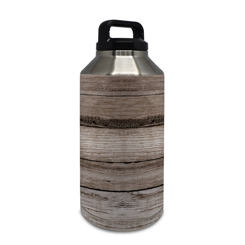 Barn Wood Yeti Rambler Bottle 64oz Skin