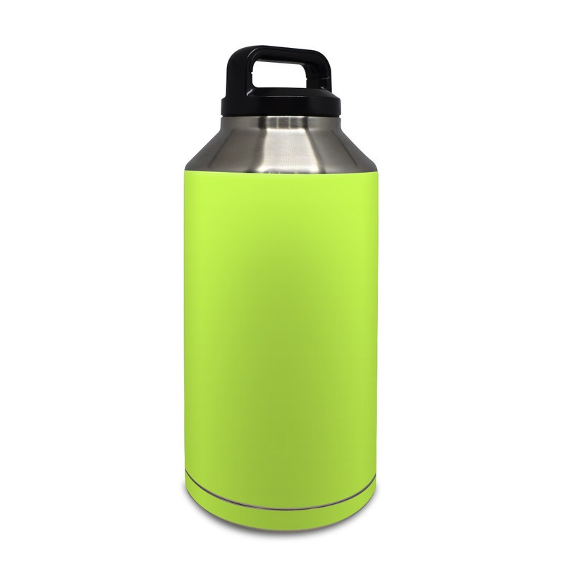 Solid State Lime Yeti Rambler Bottle 64oz Skin