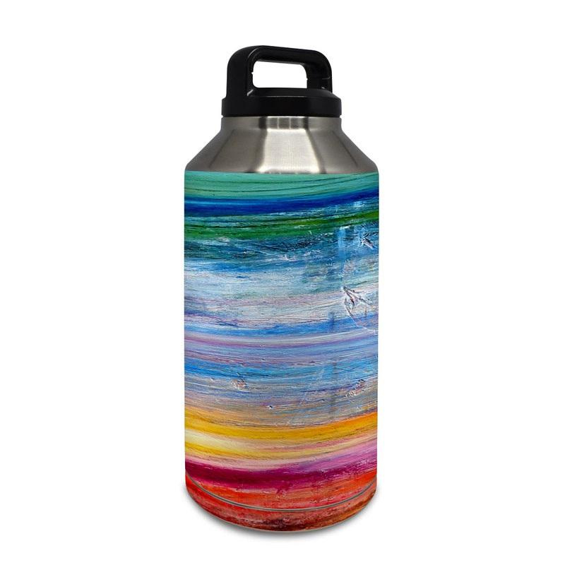 Waterfall Yeti Rambler Bottle 64oz Skin