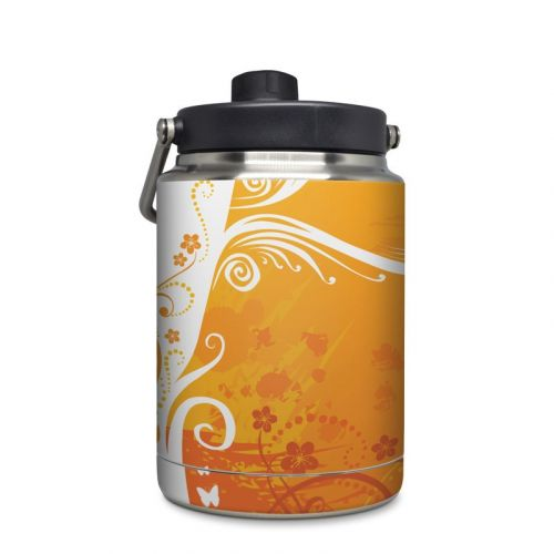 Orange Crush Yeti Rambler Half Gallon Jug Skin