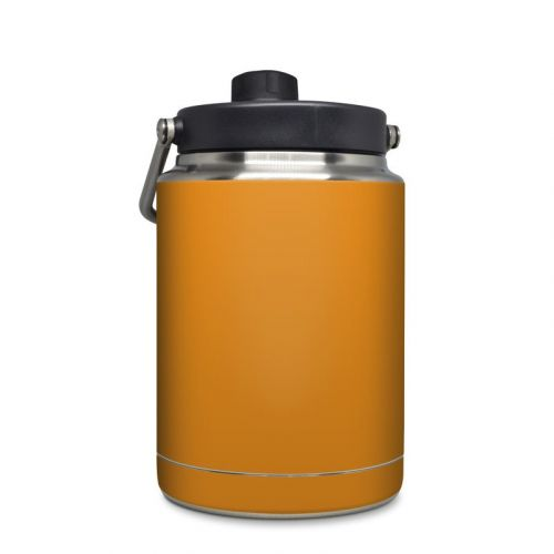 Solid State Orange Yeti Rambler Half Gallon Jug Skin