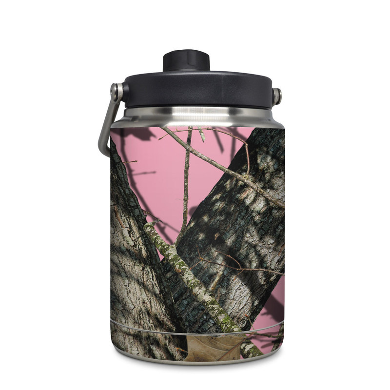 Yeti Rambler Jug Half Gallon Skin design of Tree, Branch, Plant, Wildlife, Woody plant, Tail, Adaptation, Squirrel, Trunk, Plant stem with pink, black, gray, green, red, purple colors