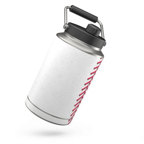 Baseball Yeti Rambler One Gallon Jug Skin