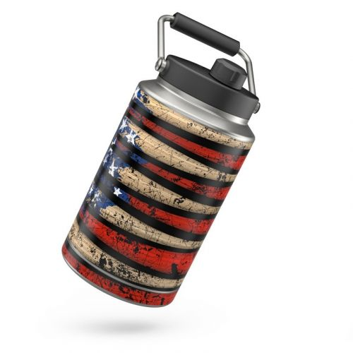 Old Glory Yeti Rambler One Gallon Jug Skin