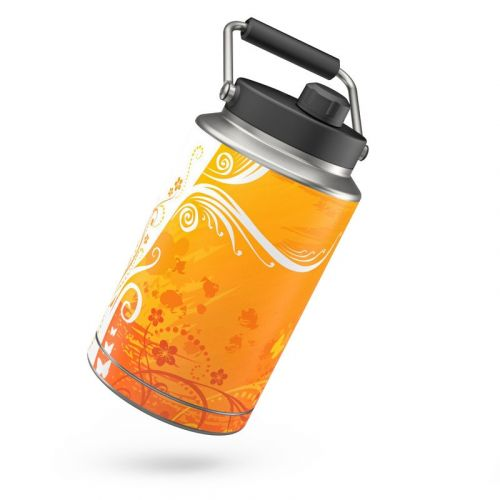 Orange Crush Yeti Rambler One Gallon Jug Skin
