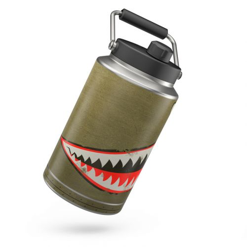 USAF Shark Yeti Rambler One Gallon Jug Skin