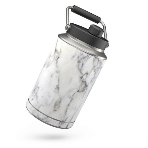White Marble Yeti Rambler Jug One Gallon Skin