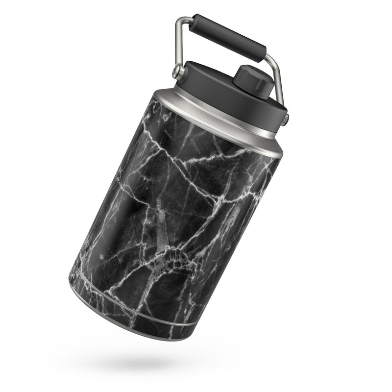 Yeti Rambler Jug One Gallon Skin design of Black, White, Nature, Black-and-white, Monochrome photography, Branch, Atmosphere, Atmospheric phenomenon, Tree, Sky with black, white colors