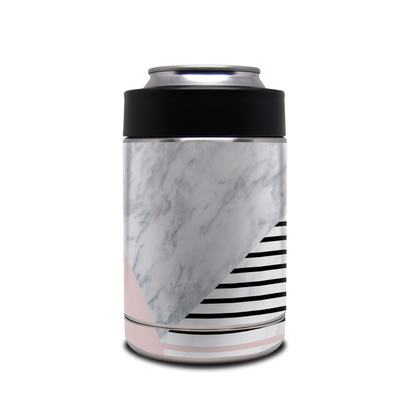 Yeti Rambler Colster Skin design of White, Line, Architecture, Stairs, Parallel with gray, black, white, pink colors