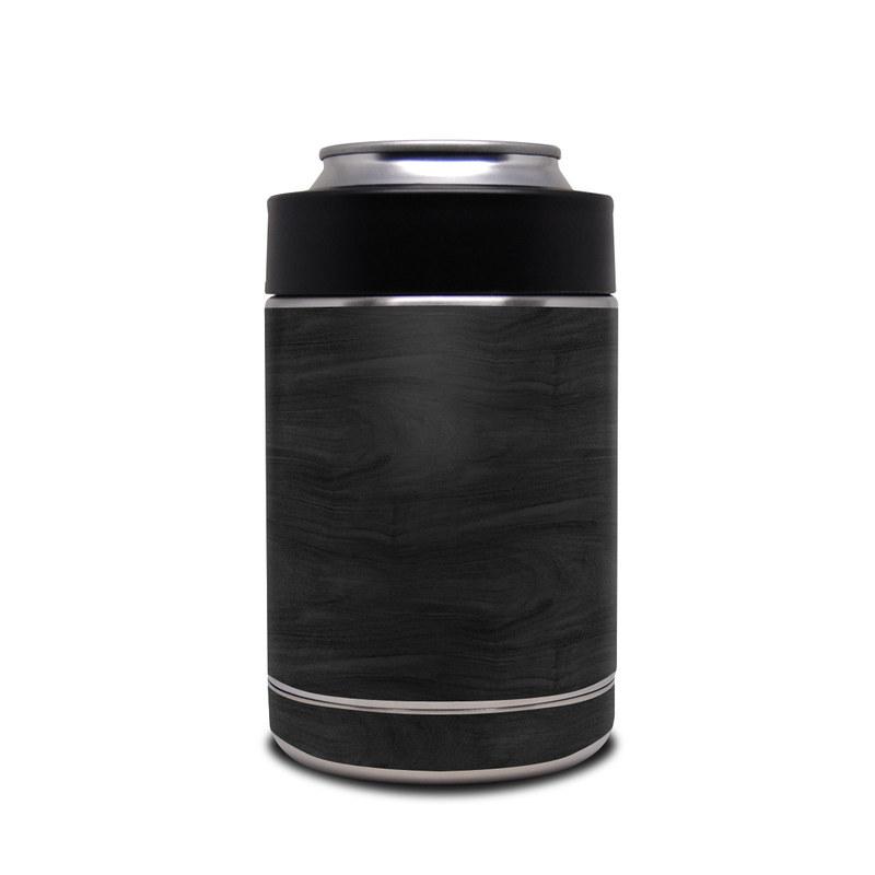 Yeti Rambler Colster Skin design of Black, Brown, Wood, Grey, Flooring, Floor, Laminate flooring, Wood flooring with black colors